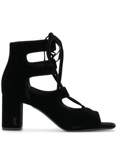 Saint Laurent LouLou 70 lace-up sandals