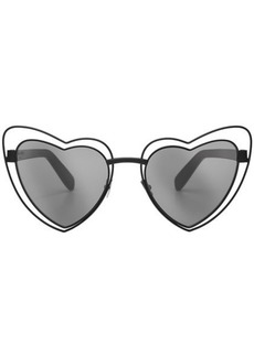Saint Laurent LouLou Heart Sunglasses