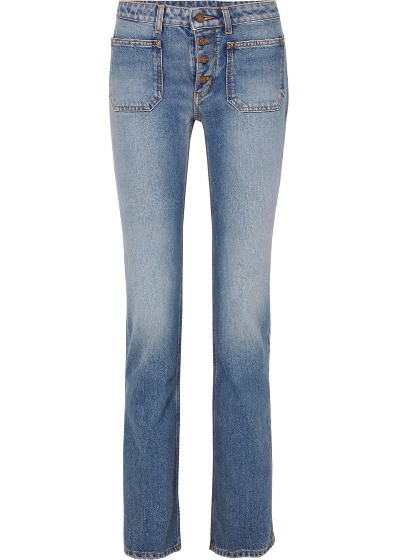 Saint Laurent Low-rise Flared Jeans