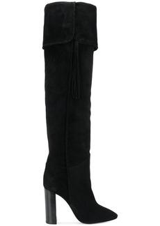 Saint Laurent Maurice thigh boots