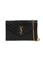 Saint Laurent Md Monogram Quilted Leather Bag