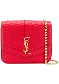 f814530aa3 Saint Laurent Saint Laurent Medium Sunset Calfskin Shoulder Bag with ...