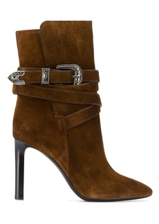 Saint Laurent Mica Western ankle boots