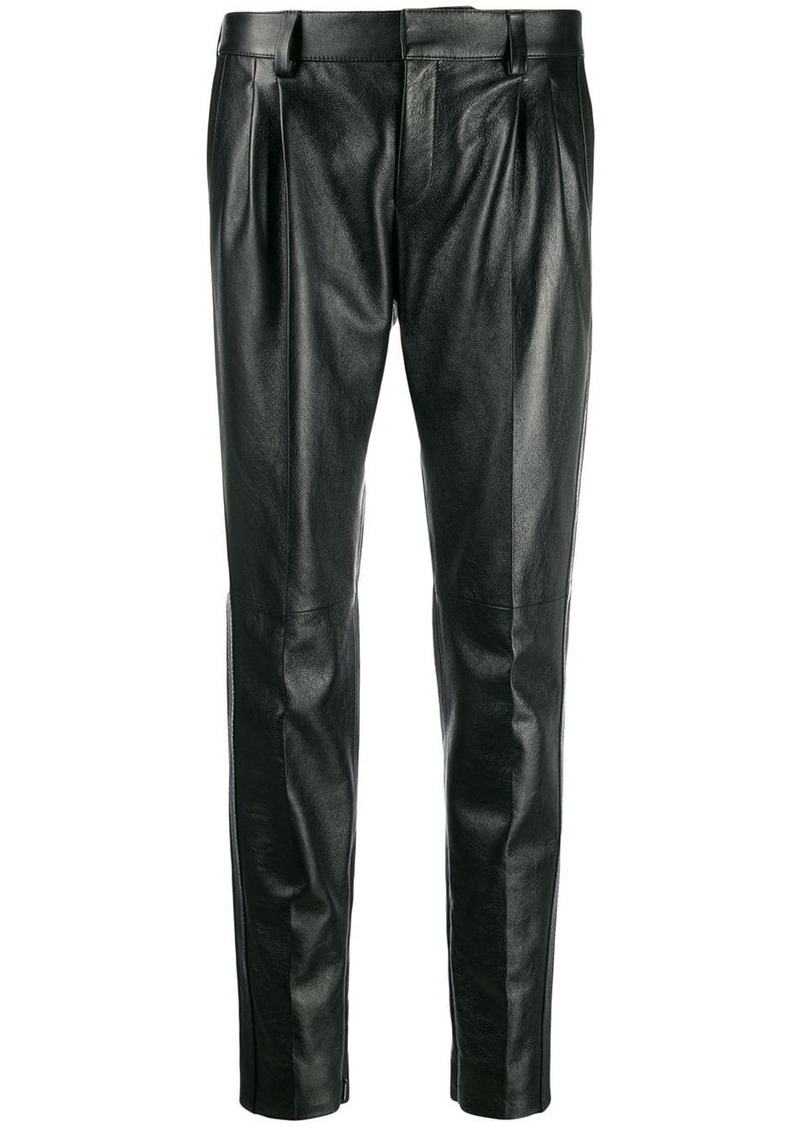 Saint Laurent mid-high tapered trousers