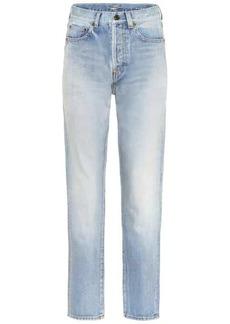 Saint Laurent Mid-rise slim jeans