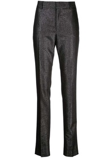 Saint Laurent mid-rise straight trousers
