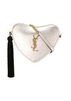 Saint Laurent monogram heart crossbody bag