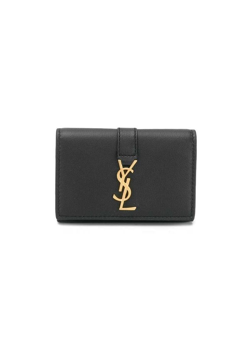 Saint Laurent monogram keychain holder