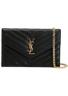 Saint Laurent Monogram leather crossbody bag