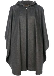 Saint Laurent oversized hooded cape