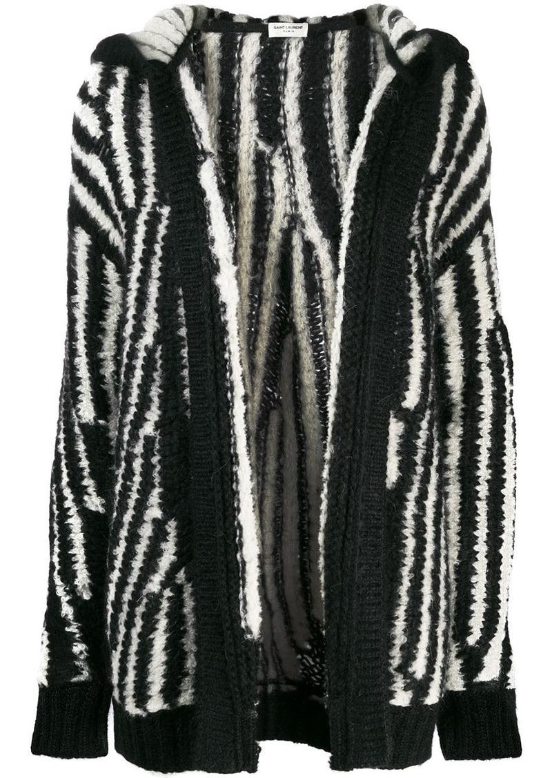 Saint Laurent oversized knitted cardigan