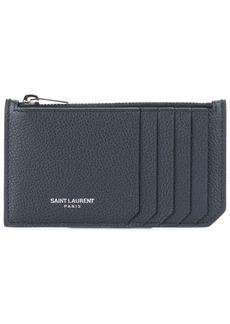 Saint Laurent Paris 5 Fragments zip pouch
