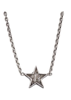 Saint Laurent Pend Mini Etoiles Necklace