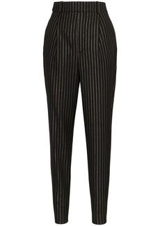 Saint Laurent pinstripe pleated trousers