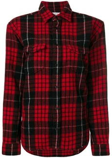 Saint Laurent plaid shirt