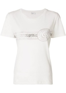 Saint Laurent printed short sleeved T-shirt