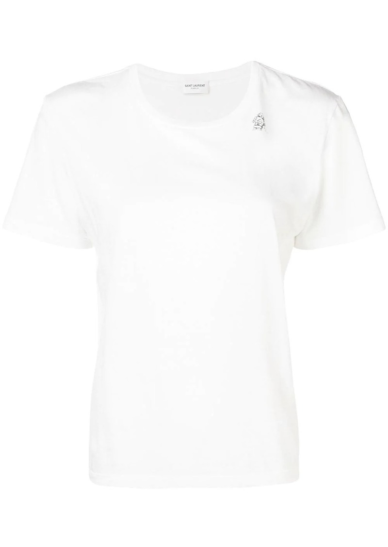 Saint Laurent round neck T-shirt