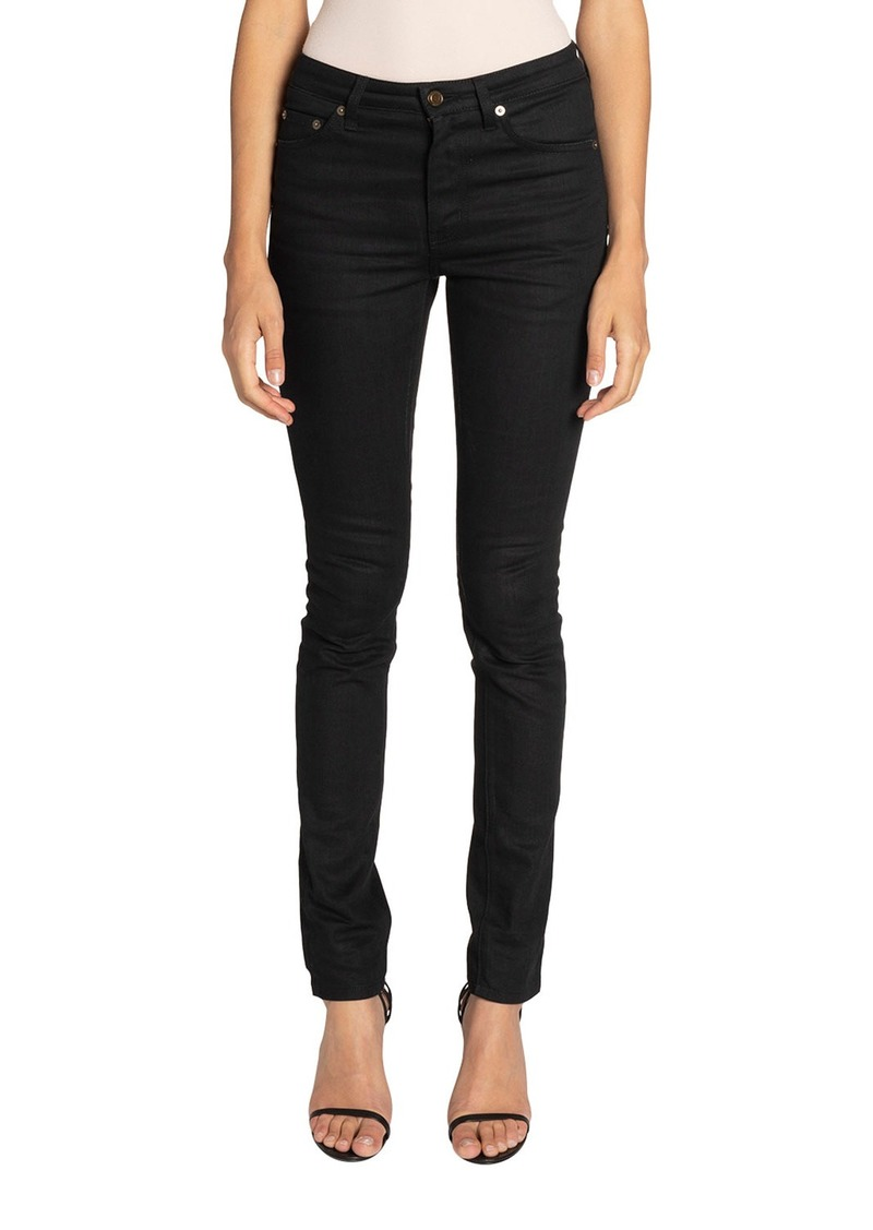 Saint Laurent 5-Pocket Skinny Jeans