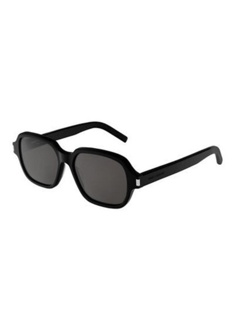 Saint Laurent Acetate Rectangle Sunglasses
