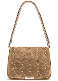Saint Laurent Amalia Stud Satchel Bag