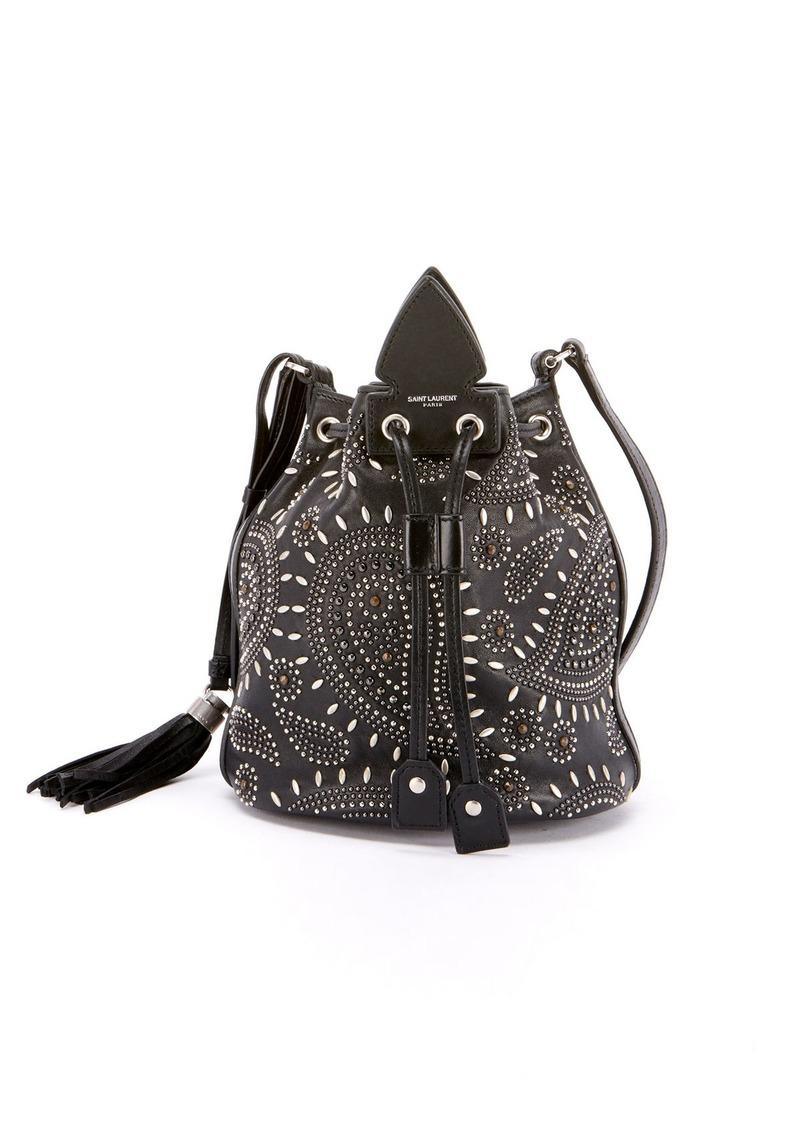 e3f101d65b Anja Small Studded Bandana Bucket Bag
