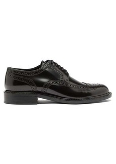 Saint Laurent Army perforated leather brogues