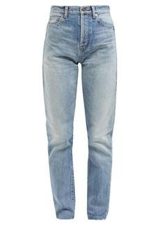 Saint Laurent Bandana-pocket slim-fit jeans