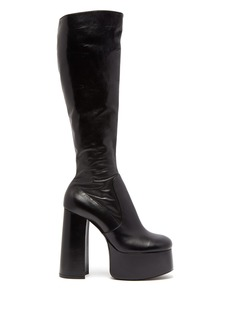 Saint Laurent Billy leather knee-high boots
