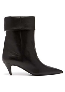 Saint Laurent Charlotte 55 leather ankle boots