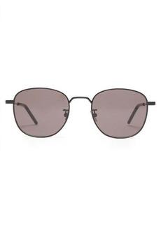 Saint Laurent Classic round-frame metal sunglasses