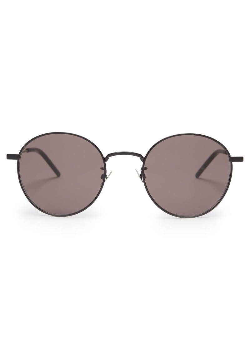 4af93a3ed39 Saint Laurent Saint Laurent Classic round-frame metal sunglasses ...
