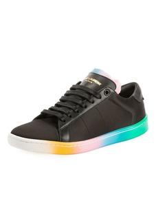 Saint Laurent Court Classic Spray Paint Sneakers