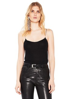 Saint Laurent Crystal Trim Cami