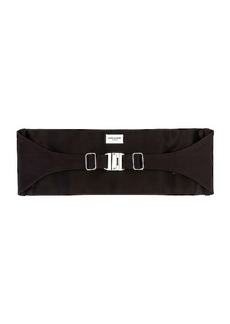 Saint Laurent Cummerbund Belt