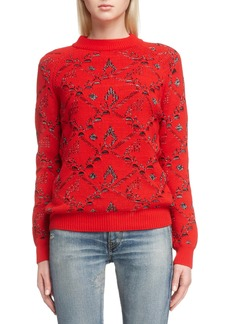 Saint Laurent Deconstructed Sweater