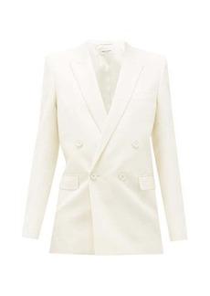 Saint Laurent Double-breasted virgin-wool jacket