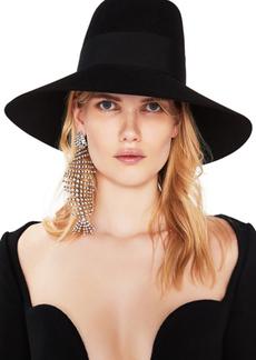 Saint Laurent Felt Wide Brim Hat