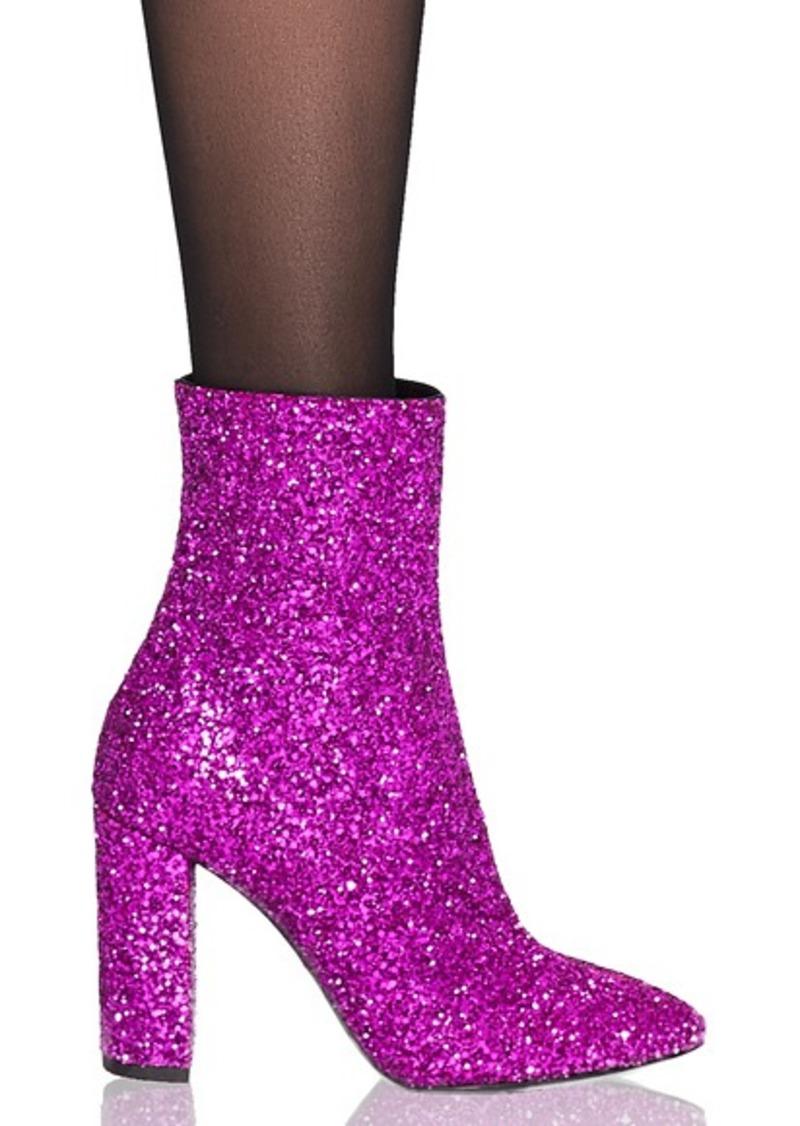 ac8c2a6fcf2 On Sale today! Saint Laurent Saint Laurent Glitter Lou Ankle Boots
