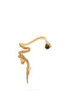 Saint Laurent Gold-tone metal snake ear cuff