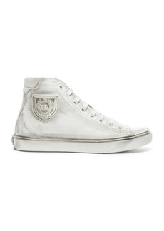 Saint Laurent High Top Bedford Sneakers