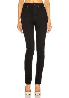 Saint Laurent High Waist Skinny Jean
