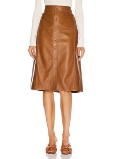Saint Laurent High Waisted Skirt