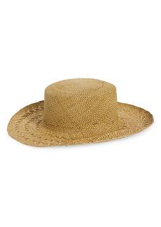 Saint Laurent Honolulu Straw Hat