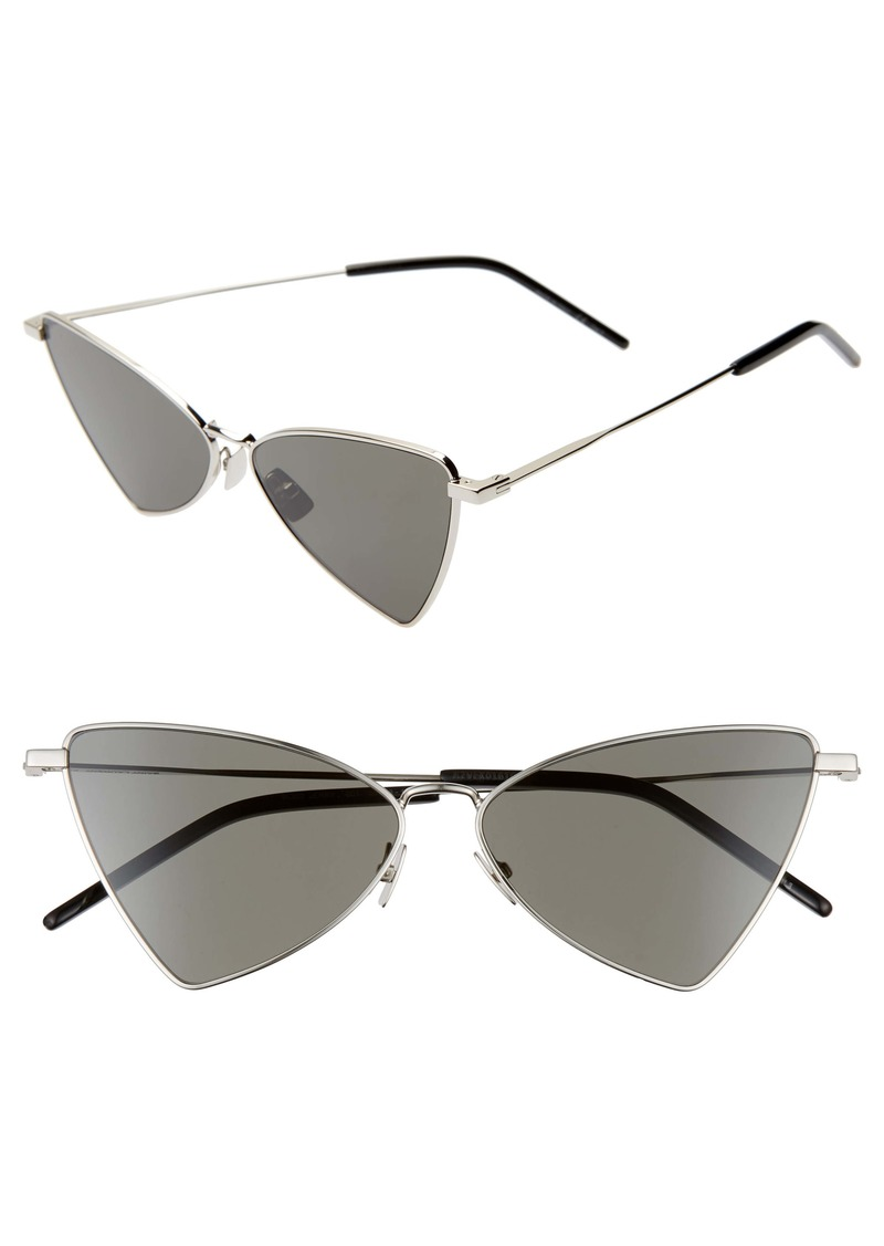 Saint Laurent Jerry 58mm Angular Sunglasses