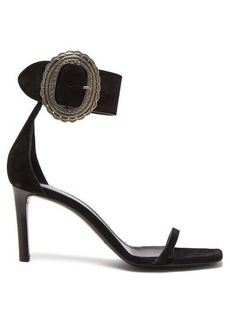 Saint Laurent Joplin suede sandals