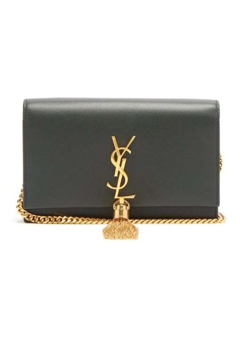 Saint Laurent Kate monogram leather cross-body bag