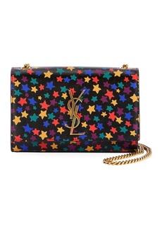 Saint Laurent Kate Monogram YSL Small Star-Print Crossbody Bag