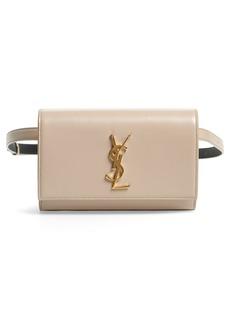 Saint Laurent Kate Patent Leather Belt Bag