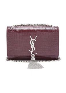 1e80e438 Saint Laurent Kate small crocodile-effect leather cross-body bag