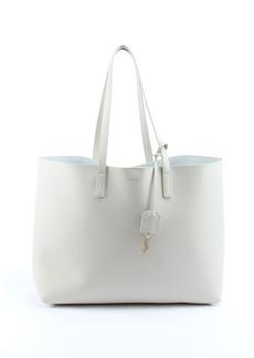Saint Laurent Large Shopping Tote Bag  White